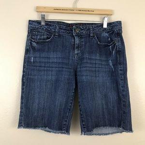 Elle womens denim shorts size 10